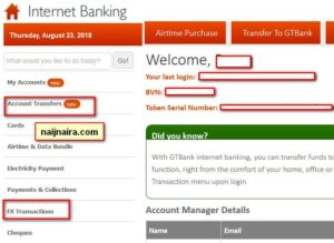 Gtbank Domiciliary Account ~ Apply, Fund & Transfer
