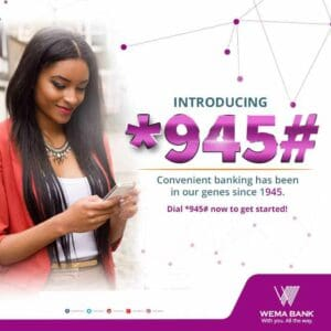 Wema Bank USSD Code {Transfer & Recharge}