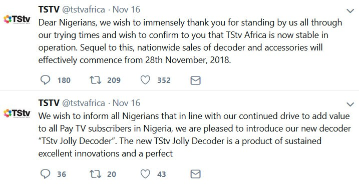 tstv jolly decoder