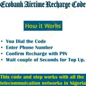 Ecobank Airtime Recharge Code {Buy Credit, Do Top Up}