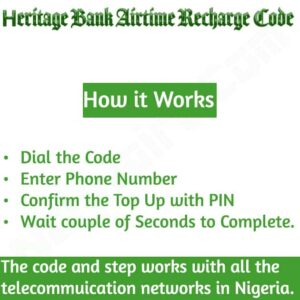Heritage Bank Airtime Recharge Code {Buy Credit}
