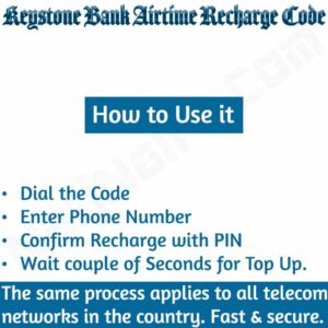 Keystone Bank Airtime Recharge Code {Buy Credit}