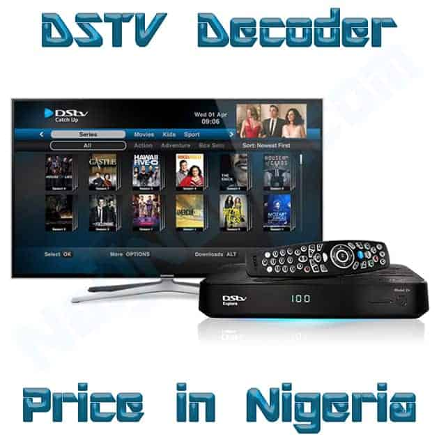 dstv decoder price in nigeria