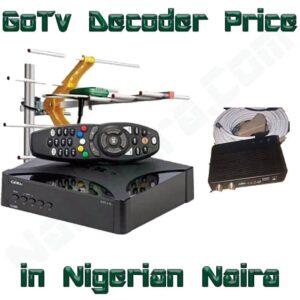 GoTv Decoder Price In Nigeria 2021