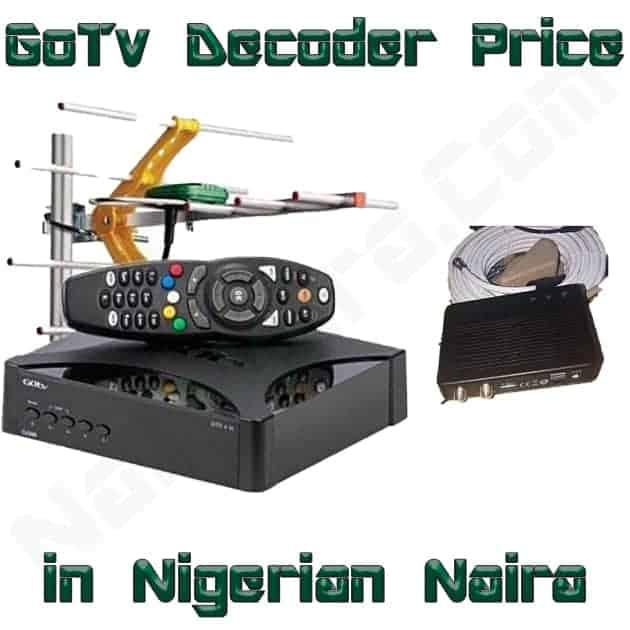gotv decoder price in nigeria
