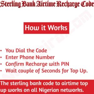 Sterling Bank Airtime Recharge Code {Buy Credit}