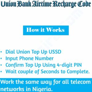 Union Bank Airtime Recharge Code {Buy Airtime}