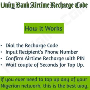 Unity Bank Airtime Recharge Code {Buy Credit, Do Top Up}