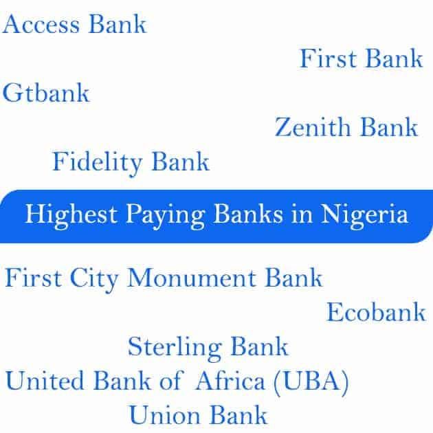 highest paying banks in nigeria