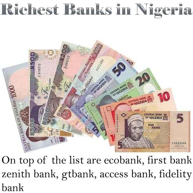richest banks in nigeria
