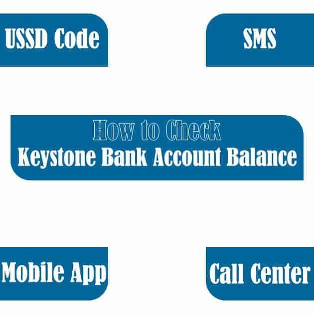 how to check keystone bank account balance