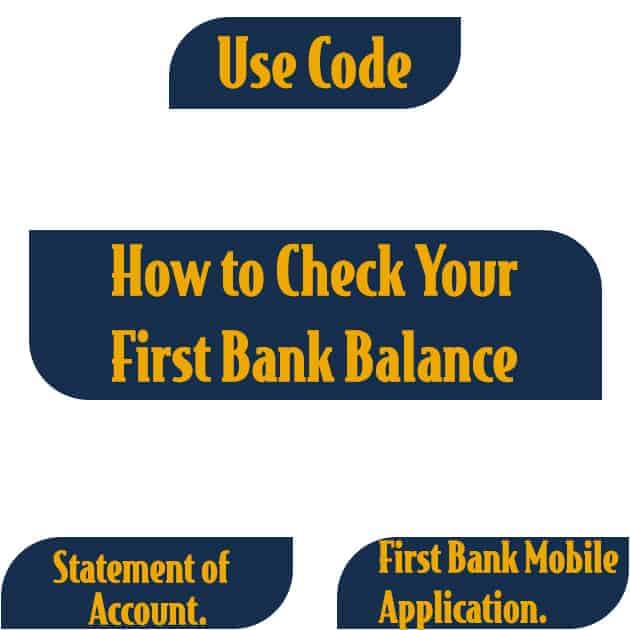 how to check first bank account balance